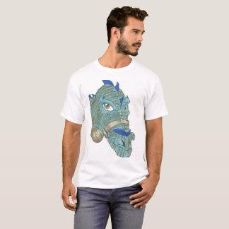 Blauer Drache-T - Shirt
