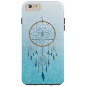 Blauer Dreamcatcher Handy-Kasten Tough iPhone 6 Plus Hülle