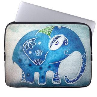 Blauer Elefant Laptop Sleeve