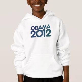 Blauer Entwurf Obama 2012 Hoodie