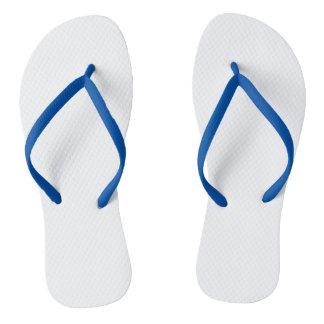 Blauer Erwachsener drehen Reinfälle, dünne Bügel Flip Flops