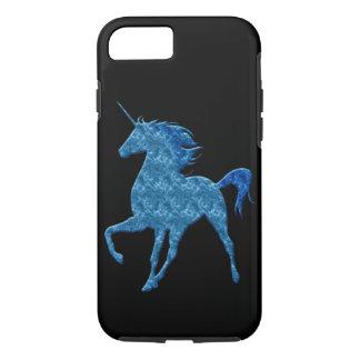 Blauer Feuer-Einhorn iPhone 7 Kasten iPhone 8/7 Hülle