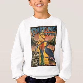Blauer Flamingo Sweatshirt