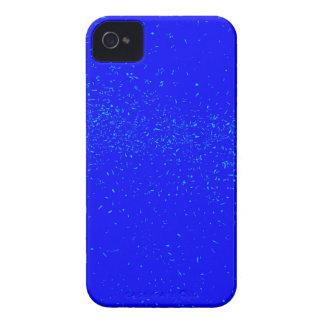 Blauer Fleck-Hintergrund Case-Mate iPhone 4 Hülle