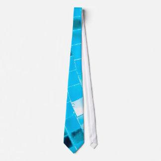 Blauer flippiger Disco-Ball Krawatte