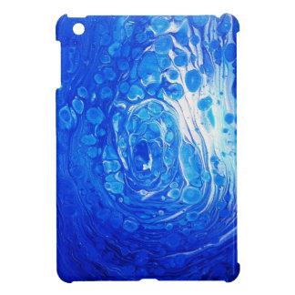 Blauer flüssiger Grafik Ipad Kasten! iPad Mini Hülle