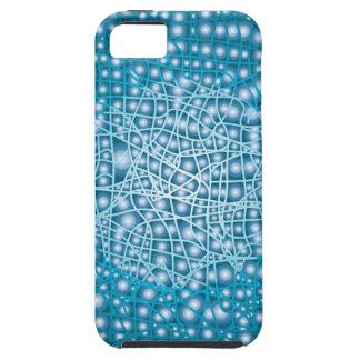 Blauer flüssiger Hintergrund Schutzhülle Fürs iPhone 5
