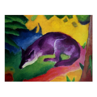 Blauer Fox, 1911 Postkarten