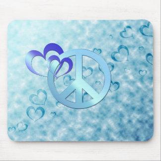 Blauer Frieden Mousepad