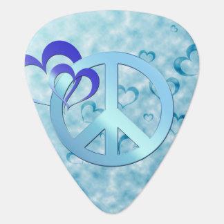 Blauer Frieden Plektrum