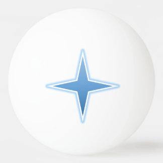 Blauer Funken-Klingeln Pong Ball Tischtennis Ball