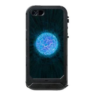 Blauer gefrorener Planet Incipio ATLAS ID™ iPhone 5 Hülle