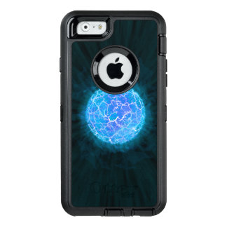 Blauer gefrorener Planet OtterBox iPhone 6/6s Hülle