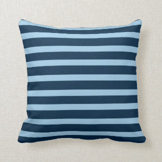 blauer gestrichener Kissen