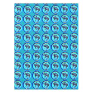 Blauer Giftpfeilfrosch Tischdecke