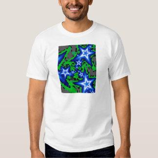 Blauer Glanz 2 T-Shirts