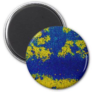 Blauer Goldmagnet Magnete