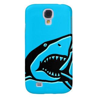 Blauer Haifisch Galaxy S4 Hülle