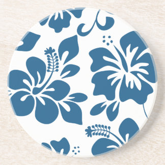 Blauer hawaiischer Hibiskus Untersetzer