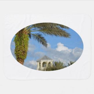 Blauer Himmel des Florida-SzenenPalme-Helms Kinderwagendecke