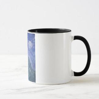 Blauer Himmel-Hügel-Tasse Tasse
