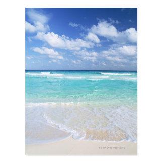Blauer Himmel und Meer 13 Postkarte