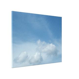 Blauer Himmel und Wolken Leinwanddruck