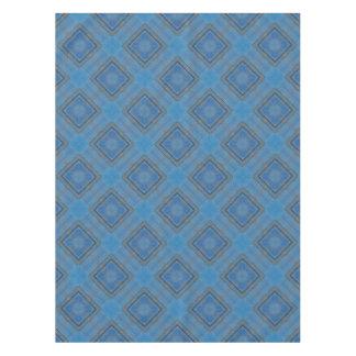 blauer hölzerner Hintergrund Tischdecke