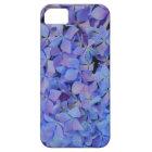 Blauer Hydrangea iPhone Kasten Hülle Fürs iPhone 5