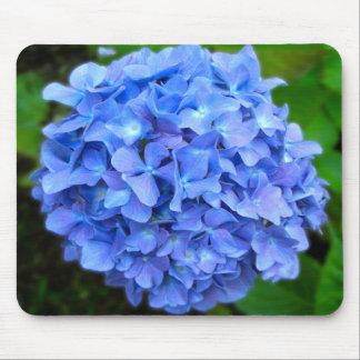 Blauer Hydrangea Mousepad