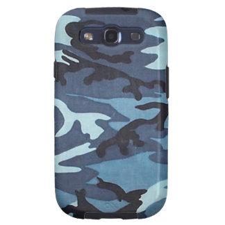 Blauer Kasten Camouflage-Samsungs-Galaxie-S Schutzhülle Fürs Samsung Galaxy S3
