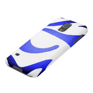 Blauer Kasten Mosaik-Samsung-Galaxie S5 Hülle Fürs Galaxy S5