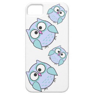 Blauer Kawaii Eule iPhone Kasten Telefon-5/5S iPhone 5 Etui