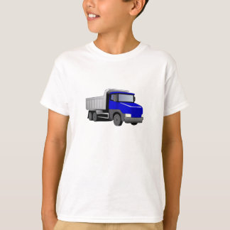 Blauer Kipper T-Shirt