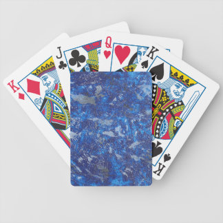 Blauer Kosmos #2 Bicycle Spielkarten