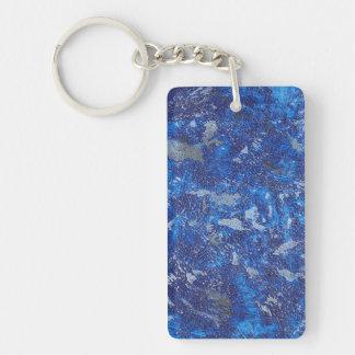 Blauer Kosmos #2 Schlüsselanhänger
