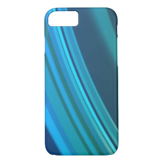 Blauer Kräuselungs-Telefon-Kasten iPhone 8/7 Hülle