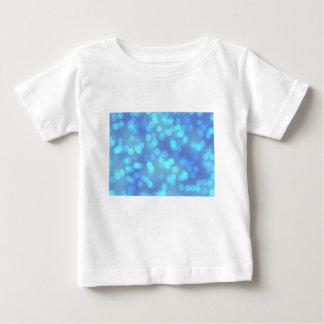 Blauer Lagune-Hintergrund Baby T-shirt