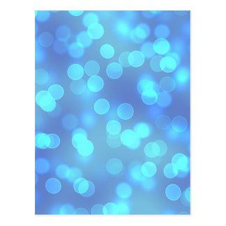 Blauer Lagune-Hintergrund Postkarte