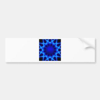 Blauer Laser #2 Autoaufkleber