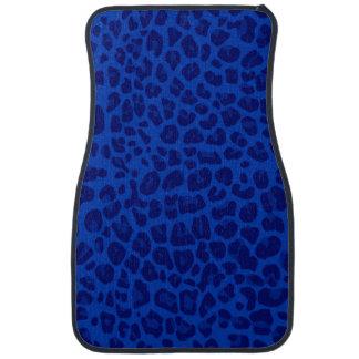 Blauer Leoparddruck Automatte