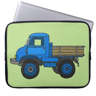 Blauer LKW Laptop Schutzhüllen