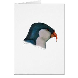 blauer lorikeet Papagei, tony fernandes Karte