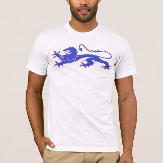 Blauer Löwe-passant T-Shirt