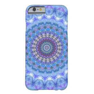 Blauer Mandala iPhone 6 Kasten Barely There iPhone 6 Hülle