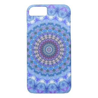 Blauer Mandala iPhone 7 Kasten iPhone 7 Hülle