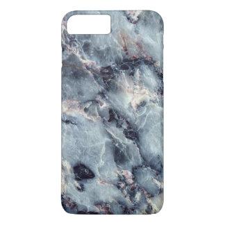 Blauer Marmorkasten iPhone 8 Plus/7 Plus Hülle