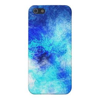 Blauer MarmorSpeck-Kasten iPhone 5 Case