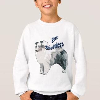 Blauer Merle die Shetlandinseln Schäferhund Sweatshirt