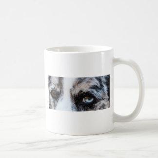 Blauer Merle Hund Kaffeetasse